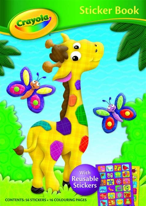 Giraffe crayola