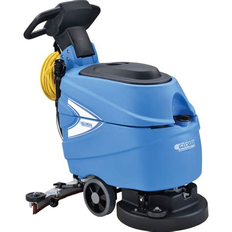 Global Electric Auto Floor Scrubber 17 Cleaning Path
