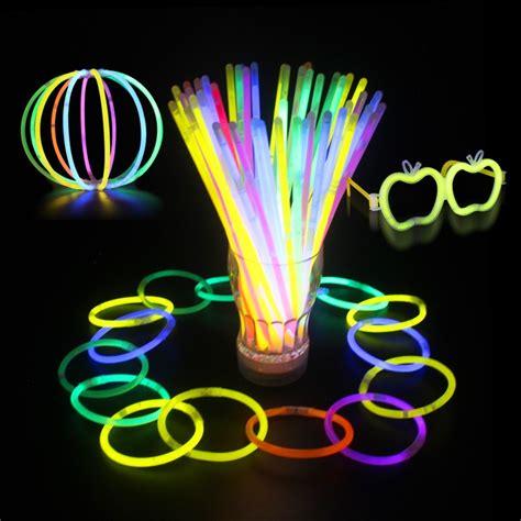 Glow Sticks Glow Bracelets Glow in the Dark Flashing