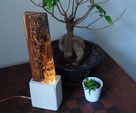 Glowing Bedside Lamp 9 Steps with Pictures