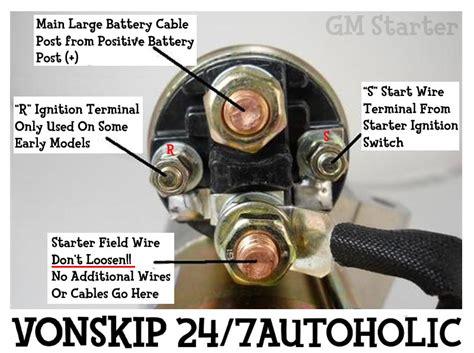 Gm Starter Diagram