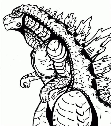 Godzilla Coloring Pages