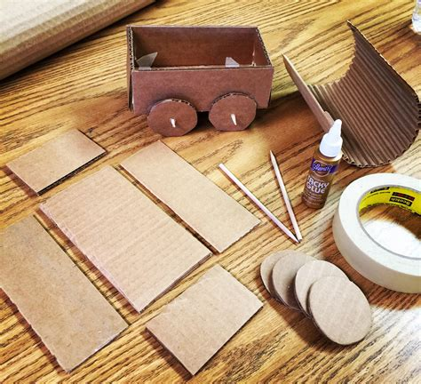 Gold Rush Covered Wagon Art Projects for Kids