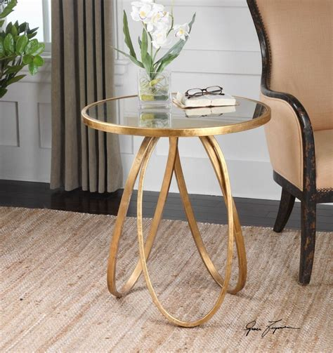 Gold Side Table eBay