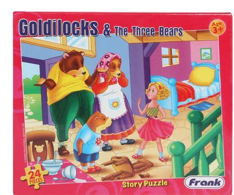 Goldilocks and The Three Bears Online Jigsaw Puzzle