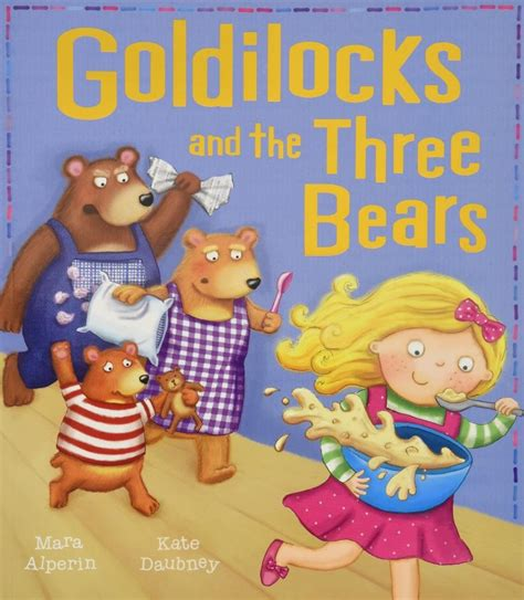 Goldilocks and the Three Bears 1 Kids Pages