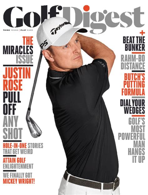 Golf Digest Magazine Golf Digest