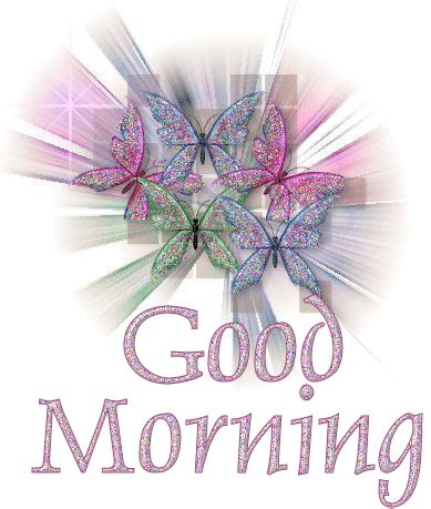 Good Morning Animated Glitter Gif Images