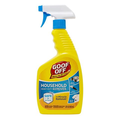 Goof Off Heavy Duty Water Based Spot Remover And