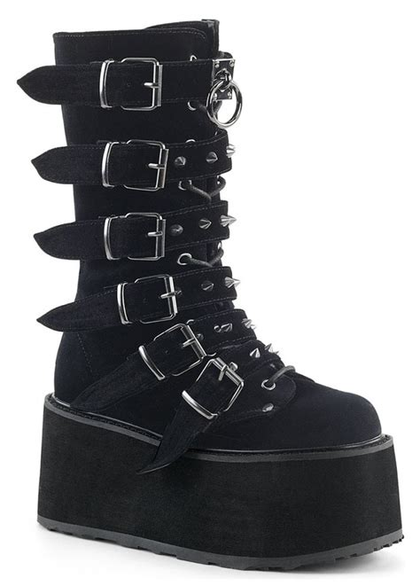 Gothic Boots Demonia Boots Womens Goth Boots