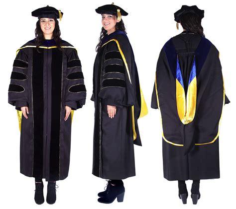 Graduation Cap and Gown Doctoral Regalia Academic Regalia