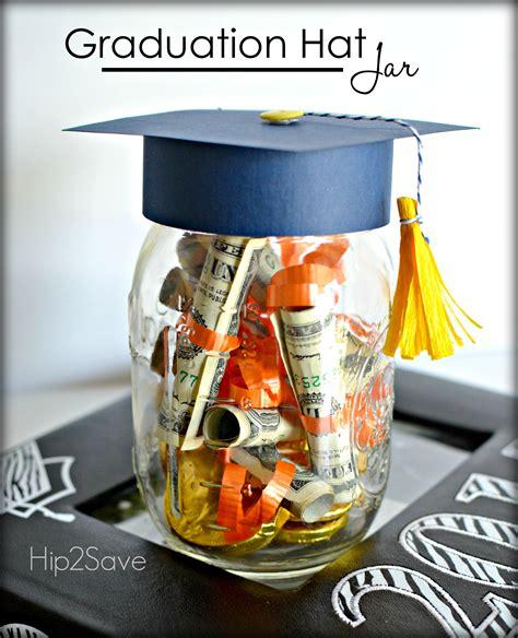 Graduation Hat Jar Graduation Gift Idea Hip2Save