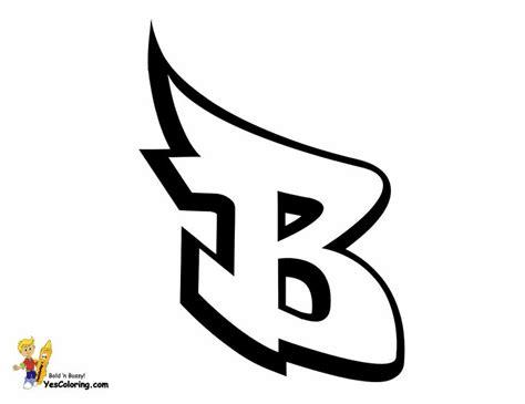 Graffiti Alphabet B Graffiti Letter B Printables