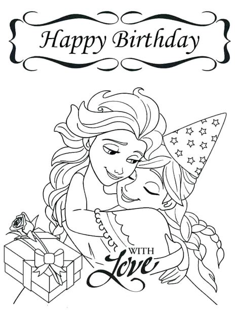 Grandma Birthday coloring page Free Printable Coloring Pages