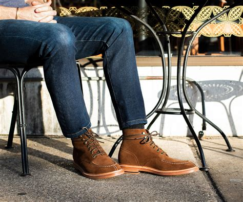 Grant Stone Men s Goodyear Welt Boots and Shoes