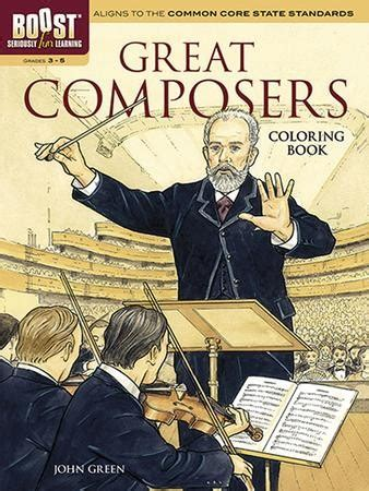 Great Composers Coloring Book Christianbook