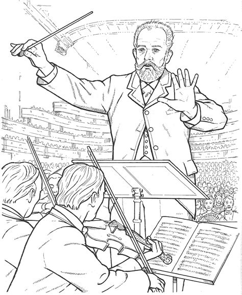 Great Composers coloring pages Coloring Pages and
