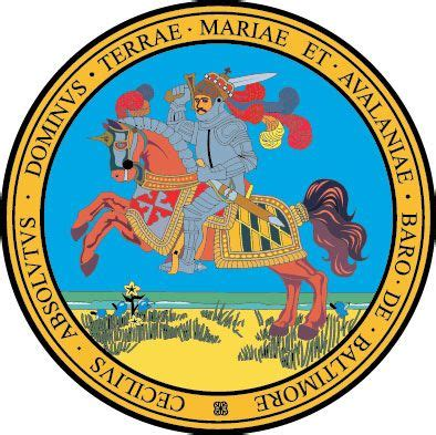 Great Seal of Maryland reverse