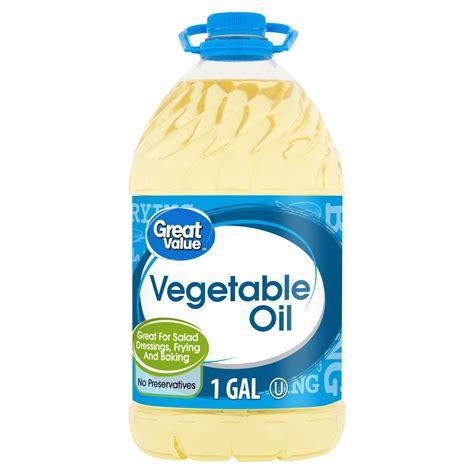 Great Value Vegetable Oil 1 gal Walmart