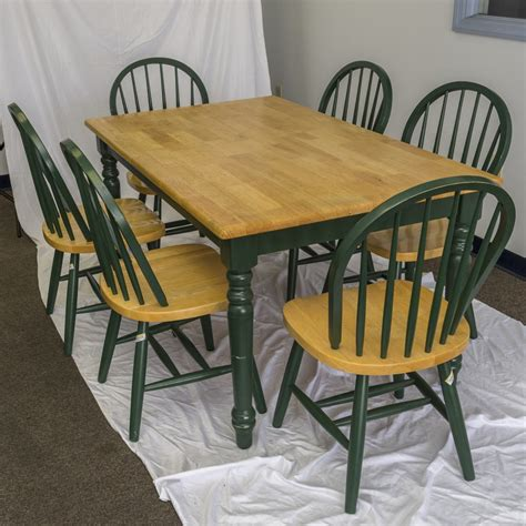 Green Country Tables Farmhouse Table And Chairs Farm