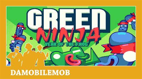 Green Ninja A Free Game by Nitrome