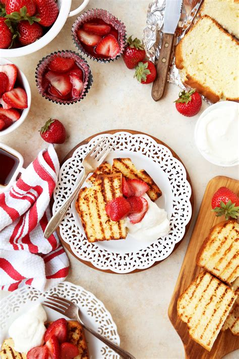 Grilled Strawberry Shortcake Joy the Baker