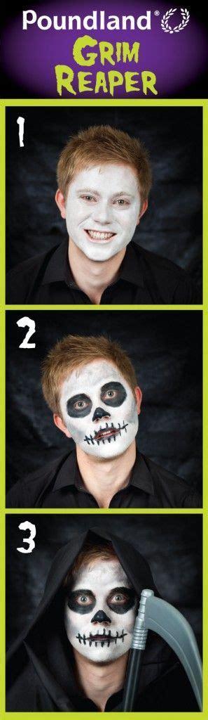 Grim Reaper Face Paint Step by Step Poundland