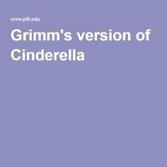 Grimm 021 Cinderella University of Pittsburgh
