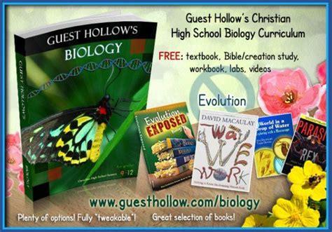 Guest Hollow s Biology Curriculum