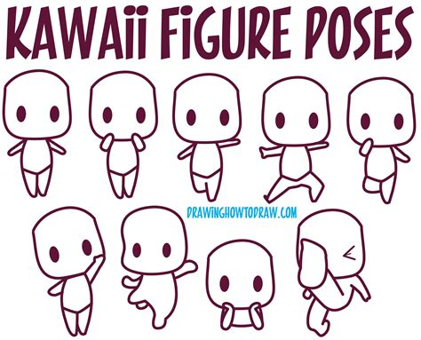 Guide to Drawing Kawaii Characters Part 1 How to Draw