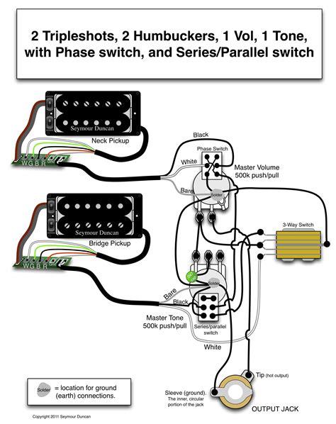 wiring diagram humbucker wiring image wiring diagram wiring diagram 2 humbuckers 3 way switch images duncan wiring on wiring diagram humbucker