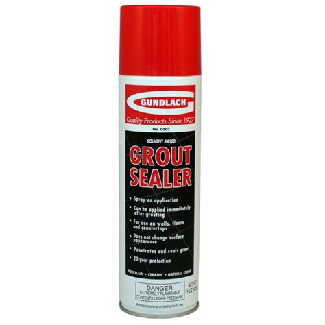 Gundlach GS02 Spray On Grout Sealer Tools4Flooring