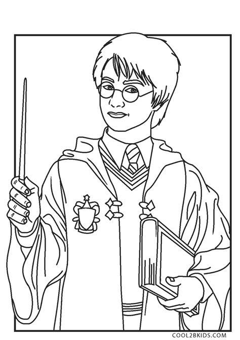 HARRY POTTER coloring pages 33 HARRY POTTER online