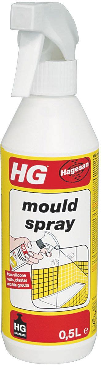 HG Mould Remover Spray 500 ml Departments DIY at B Q