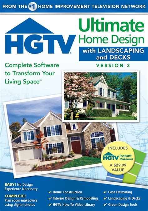 HGTV Ultimate Home Design with Landscaping and Decks