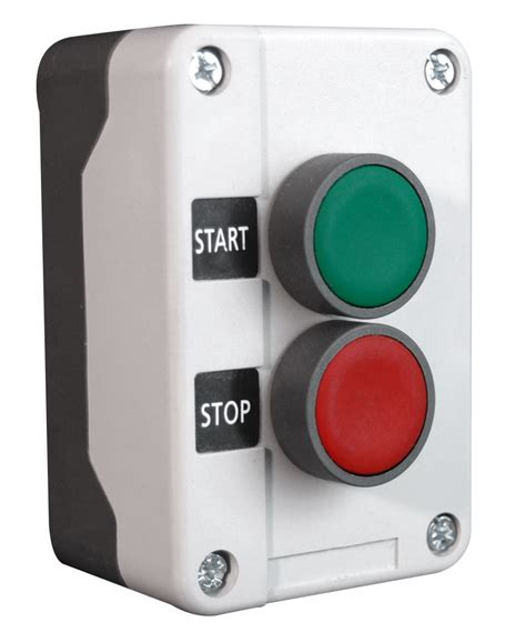 HOA station and Start Stop switches Control