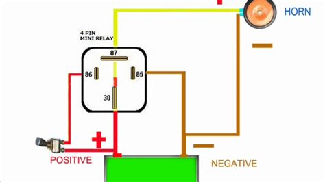 headlight relay wiring diagram images horn relay simple wiring