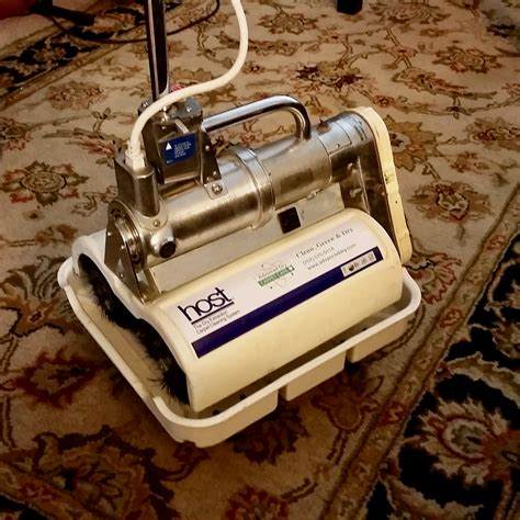 HOST Dry Carpet Cleaning Grout Cleaning System Green