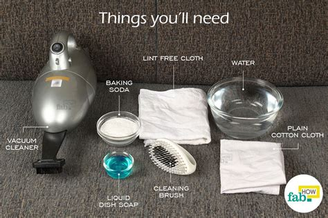 HOW TO CLEAN YOUR COUCH WITH LAUNDRY DETERGENT DO IT