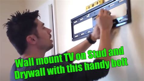 HOW TO HANG TV ON WALL MOUNT REVIEW YouTube