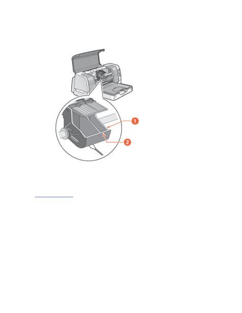 HP 6127 Deskjet Color Inkjet Printer User Manual