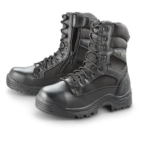 HQ ISSUE Men s Waterproof Side Zip Tactical Boots 292023