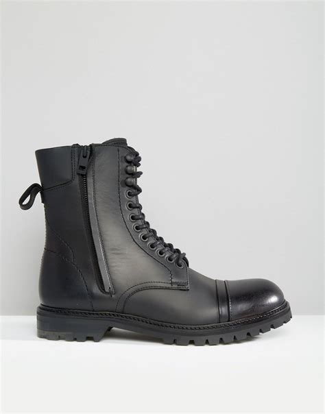 HUGO BOSS boots for men available in relaxed and confident