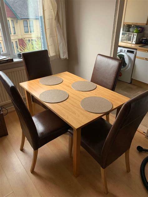 Habitat dining table chairs in Llandaff Cardiff Gumtree