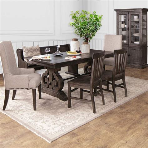 Hacienda Dining Collection Distressed Dining Room Set
