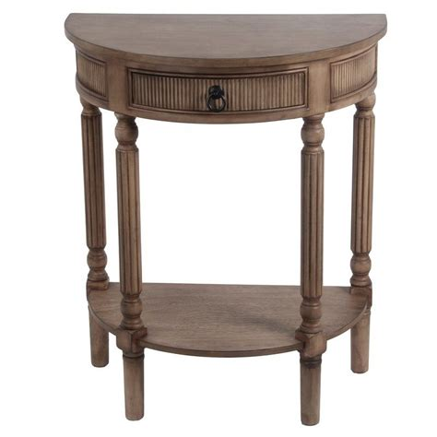 Half Circle End Side Tables You ll Love Wayfair