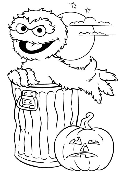 Halloween Coloring Pages Color Pages for Mom Free