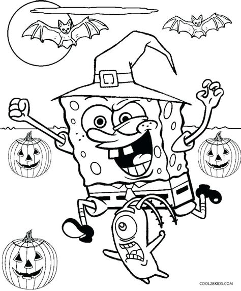 Halloween Coloring Pages for Kids Free Coloring Pictures