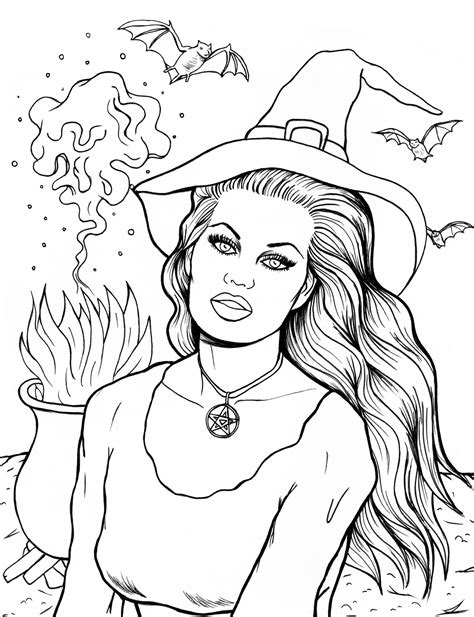Halloween Coloring Sheets
