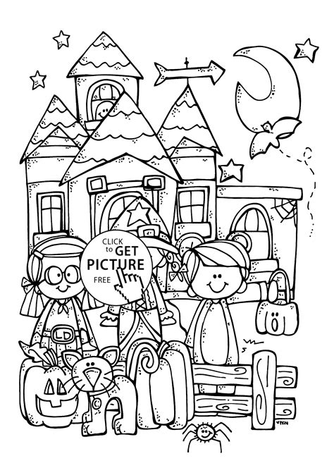 Halloween Coloring pages Educational Fun Kids Coloring